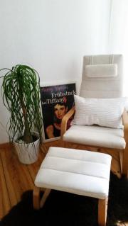 Ikea Sessel + Hocker