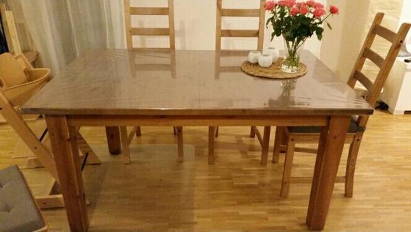 verkaufen wegen umzug einen esstisch der ikea serie storn s in der farbe antikbeize der tisch. Black Bedroom Furniture Sets. Home Design Ideas