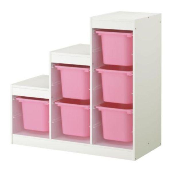 Super Aufbewahrungs Schrank !! IKEA Kinderzimmer. Inkl. bunt ...