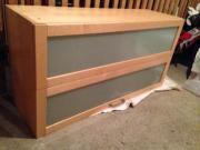 ikea vaerde hochschrank haushalt m bel gebraucht und. Black Bedroom Furniture Sets. Home Design Ideas