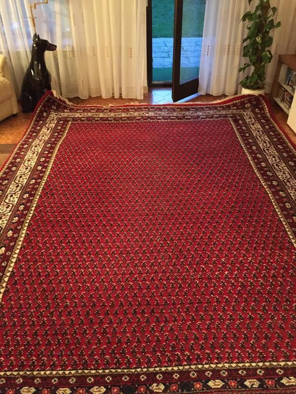 verkaufe einen indischen mir teppich sehr gut erhalten handgekn pft und 100 reine schurwolle. Black Bedroom Furniture Sets. Home Design Ideas
