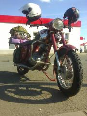 JAWA 250/592 I offer my oldtimer, daily in use. 99% complete, only handlebar not. New all bearings, tubes, tyres, ... 1.100,- CZ-47301Novy Bor Heute, 16:00 Uhr, Novy Bor - JAWA 250/592 I offer my oldtimer, daily in use. 99% complete, only handlebar not. New all bearings, tubes, tyres