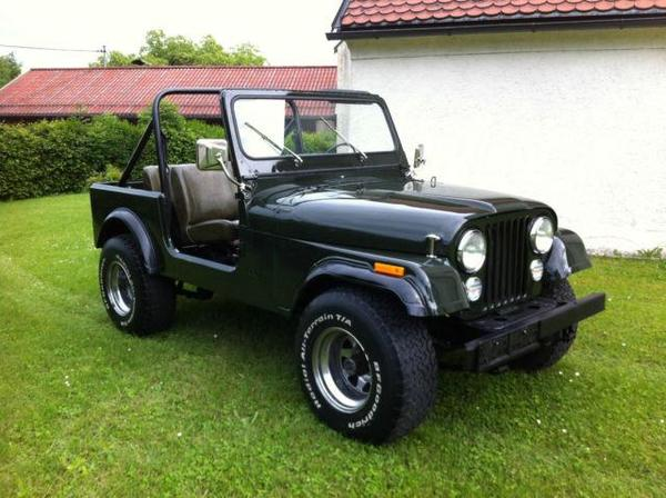 jeep cj 7 oldtimer 2hand 111ps in essen. Black Bedroom Furniture Sets. Home Design Ideas