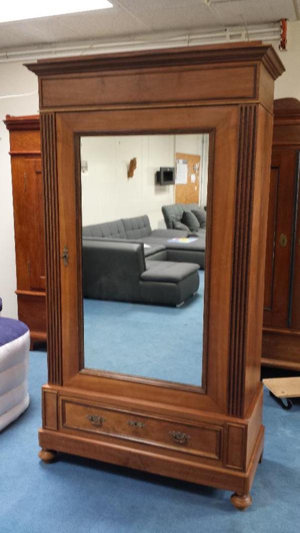 jugendstil kleiderschrank nussbaum sonstige m bel. Black Bedroom Furniture Sets. Home Design Ideas