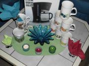 Kaffeemaschine,Tassen und