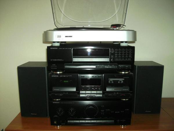kenwood hifi anlage mit lenco plattenspieler in lampertheim stereoanlagen t rme kaufen und. Black Bedroom Furniture Sets. Home Design Ideas