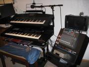 Keyboardanlage mit viel