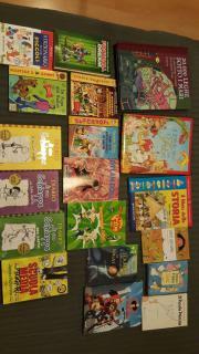 Kinder Bücher auf