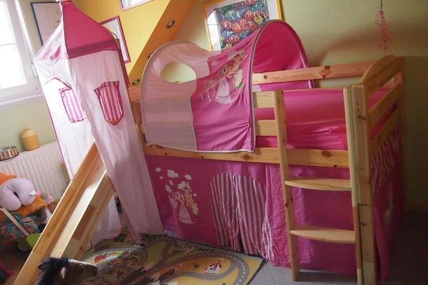 hochbett mit rutsche kaufen gebraucht und g nstig. Black Bedroom Furniture Sets. Home Design Ideas