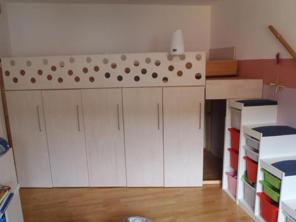 hochbett 200 neu und gebraucht kaufen bei. Black Bedroom Furniture Sets. Home Design Ideas