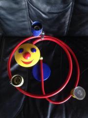 Kinderzimmerlampe Sonne - Spirale