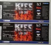 KISS, 2 Tickets,