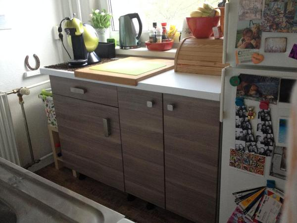 kl k che ikea sofielund holzoptik in berlin ikea m bel kaufen und verkaufen ber. Black Bedroom Furniture Sets. Home Design Ideas