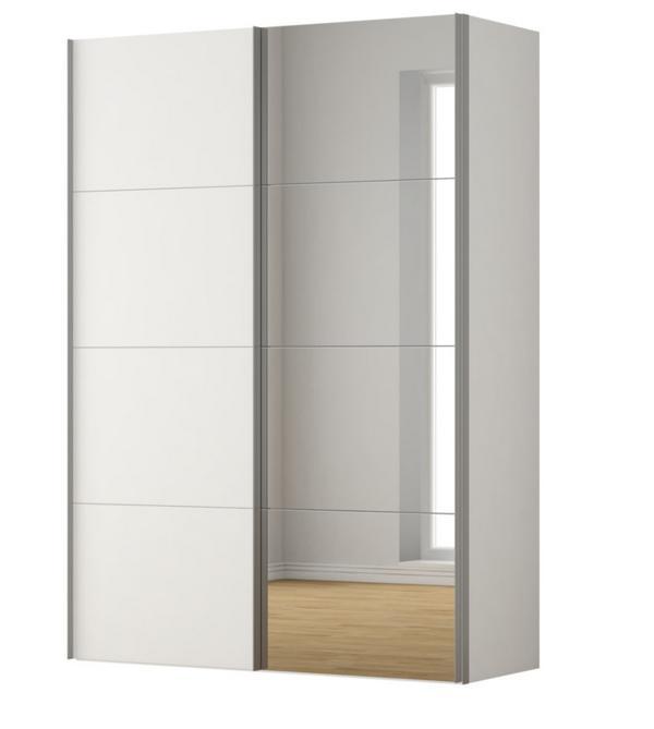 schwebeturen kleiderschrank kaufen gebraucht und g nstig. Black Bedroom Furniture Sets. Home Design Ideas