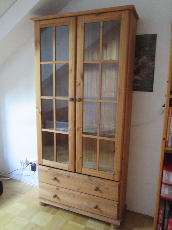 vitrine kiefer neu und gebraucht kaufen bei. Black Bedroom Furniture Sets. Home Design Ideas