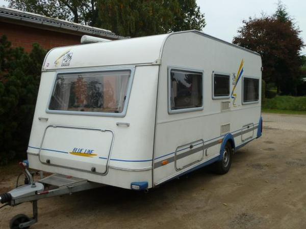 Knaus Blueline 450 Tf 4 Pers Festbett Inkl Markise In