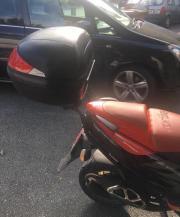 Kofferraum für Moped