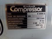 Kompressor Einhell K6000D
