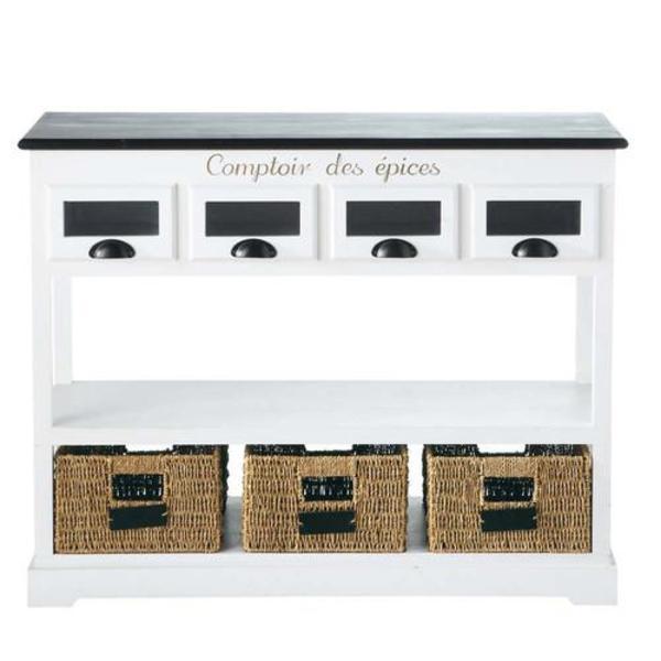 konsoltisch frz landhausstil k chenm bel schr nke. Black Bedroom Furniture Sets. Home Design Ideas