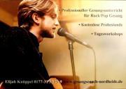 Kostenlose Probestunde - Gesangsunterricht