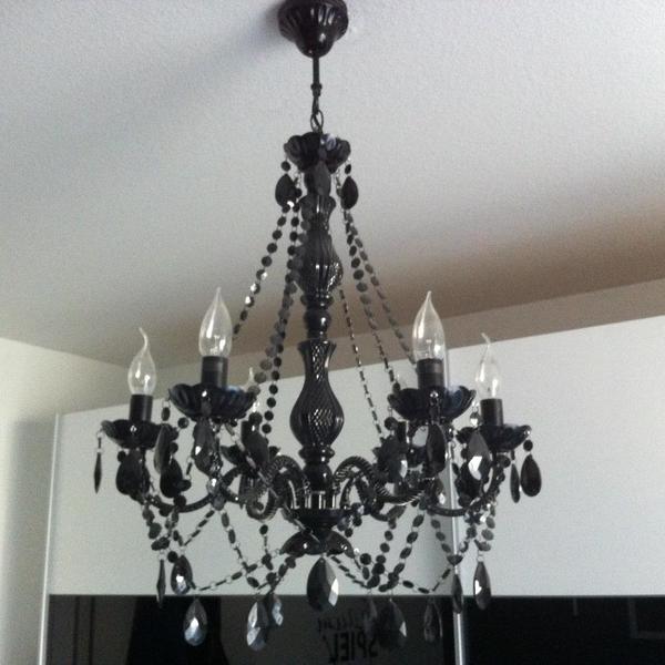 kronleuchter schwarz kaufen gebraucht und g nstig. Black Bedroom Furniture Sets. Home Design Ideas