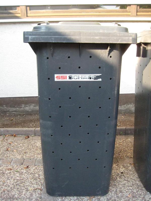kunststoff komposter schwarz gartenkomposter 240 liter. Black Bedroom Furniture Sets. Home Design Ideas