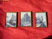 Landschaftsbilder mit Burgen