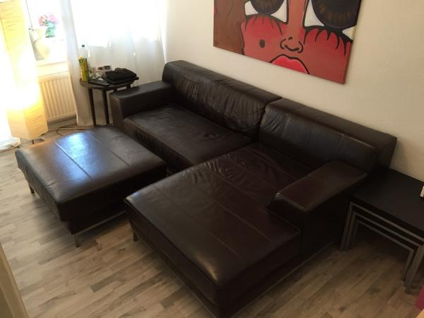 leder couch kramfors serie von ikea in berlin polster sessel couch kaufen und verkaufen ber. Black Bedroom Furniture Sets. Home Design Ideas
