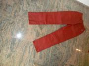 Lederhose rot Größe
