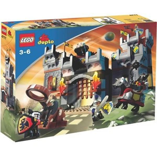lego duplo ritterburg 4777 mit karton und bauanleitung in weinheim spielzeug lego playmobil. Black Bedroom Furniture Sets. Home Design Ideas