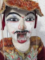 Marionette Echtholz mit