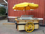 Marktwagen Eis Crepes