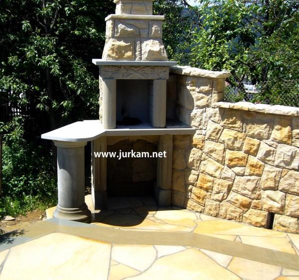 mauerwerk naturstein stein zaun stein kamin garten. Black Bedroom Furniture Sets. Home Design Ideas