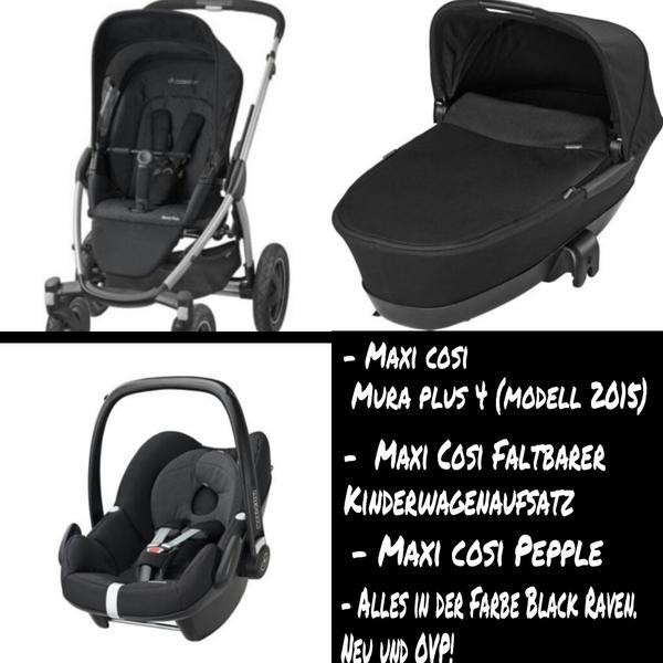 maxi cosi mura plus 4 modell 2015 komplettset neu und ovp in voerde kinderwagen kaufen und. Black Bedroom Furniture Sets. Home Design Ideas