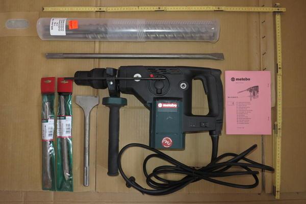 Metabo Bohrhammer Bhe 6045 S Mit Viel Zubeh R Und Koffer