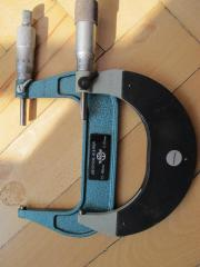 Mikrometerspritze,Mikrometerschraube HOMMEL,
