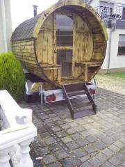 Mobile Sauna Holzofen