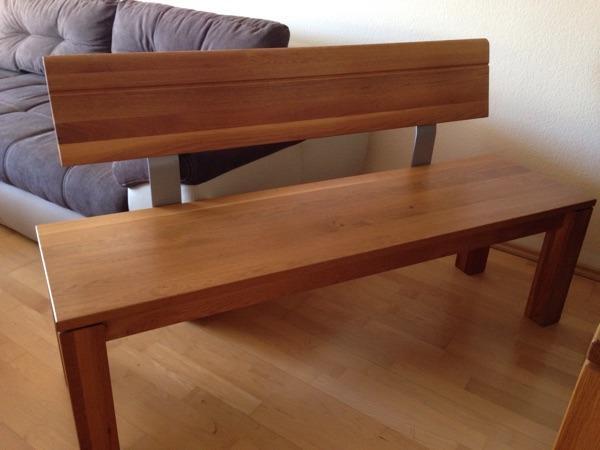 Sitzbank massiv kaufen gebraucht und g nstig for Tischgarnitur esszimmer