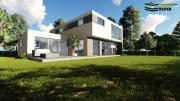 Modernes Einfamilienhaus mit