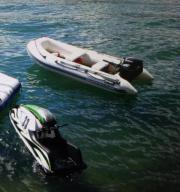 Motor-Schlauchboot 15PS