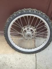Motorrad komplett Rad