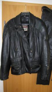 Motorrad-Lederbekleidung Gr.