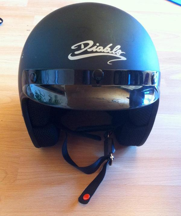 motorrad roller helm 39 jethelm diablo sb07 39 groesse m 85cm. Black Bedroom Furniture Sets. Home Design Ideas