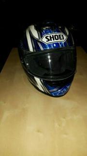 Motorradhelm shoei Größe