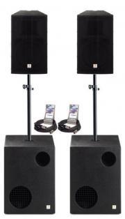 Musikanlage  Beschallungssystem  Musik-