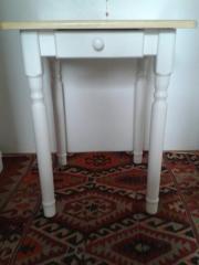 kuechentisch mit schublade haushalt m bel gebraucht. Black Bedroom Furniture Sets. Home Design Ideas