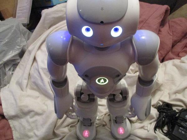 Nao humanoiden Roboter V3. 3 Roboter mit Programmen bereits in Roboter ...