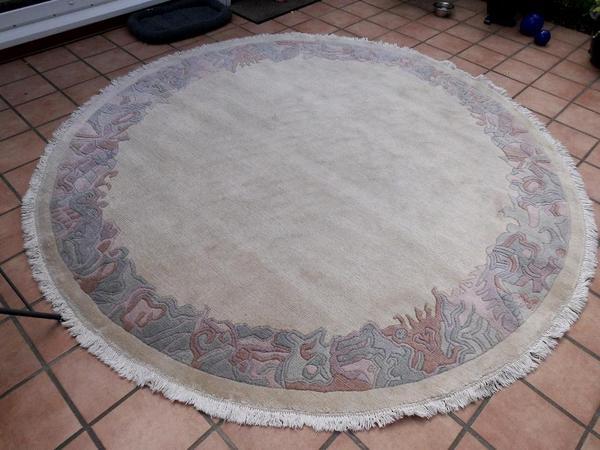 NepalTeppich rund 2,5 m in Rangsdorf  Teppiche kaufen