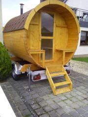 Neu mobile Sauna
