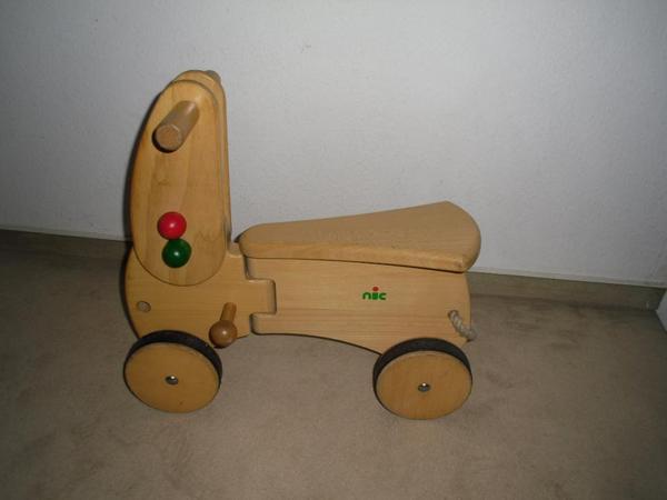 Lauflernwagen Holz Kleinanzeigen ~ NIC CombiCar Holz SITZROLLER Basis mit Lenker Buchenholz massivDreirad